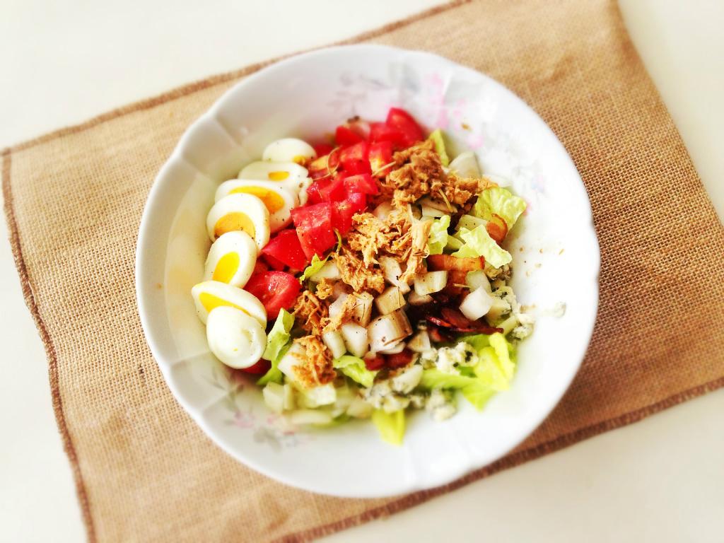 Cobb沙拉搭配巴薩米克油醋醬 Cobb Salad w/ Balasamic Vnaigrette