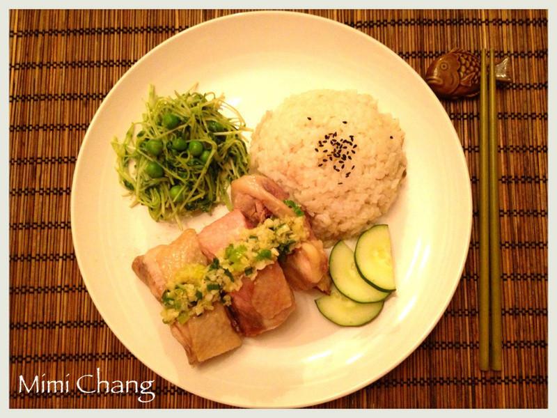 Mimi♥懶人必做海南雞飯