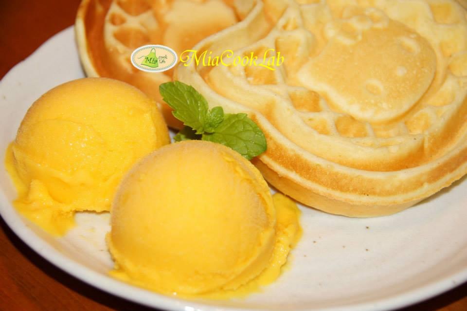 芒果優格冰淇淋