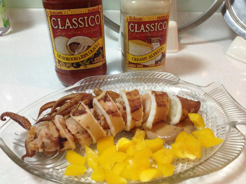 【Classico義遊味境】蘑菇橄欖紅醬烏賊燉飯