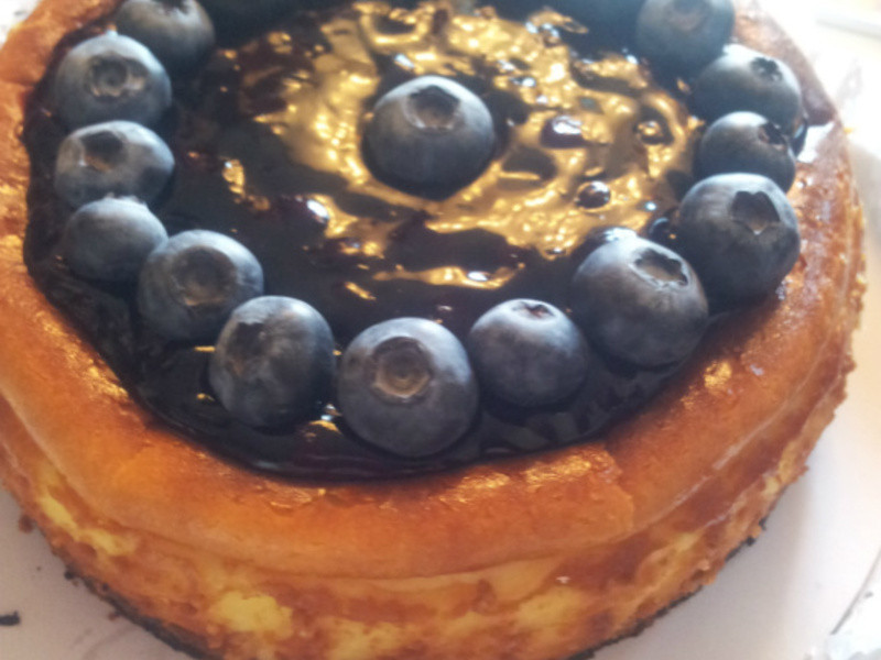 藍莓起司蛋糕