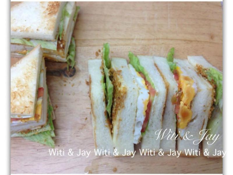 [Witi✿Kitchen]素鬆/肉鬆三明治