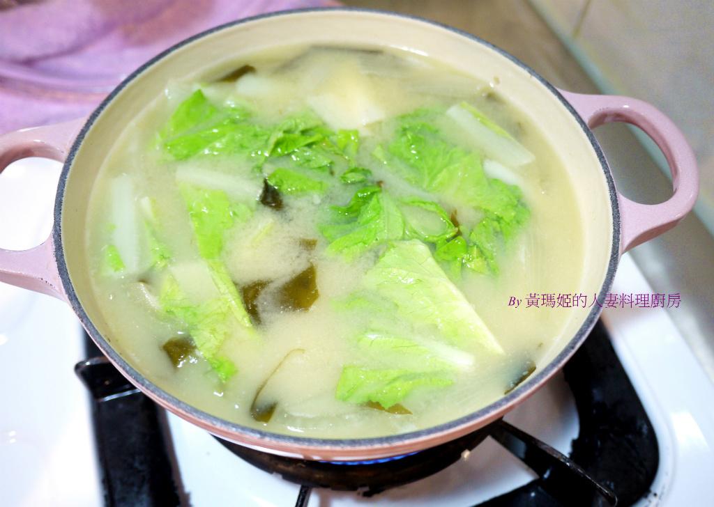 洋蔥昆布味噌湯