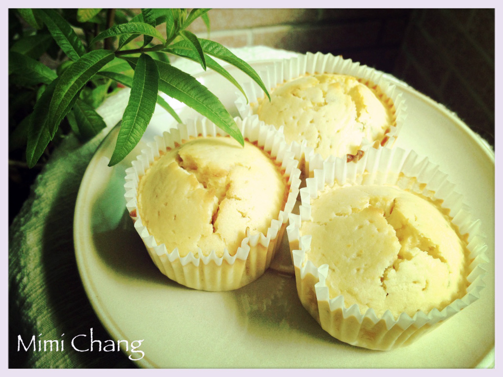 Mimi♥蜂蜜檸檬馬鞭草馬芬(免奶油、泡打粉)