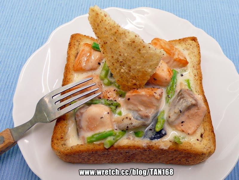 【奶醬海鮮吐司盒子】CLASSICO*香濃白醬 義大利麵醬3