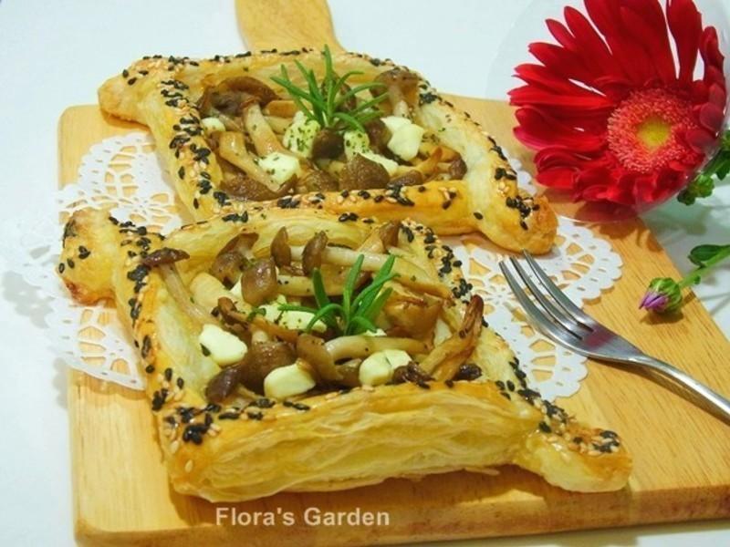 菇菇奶酪鹹酥派