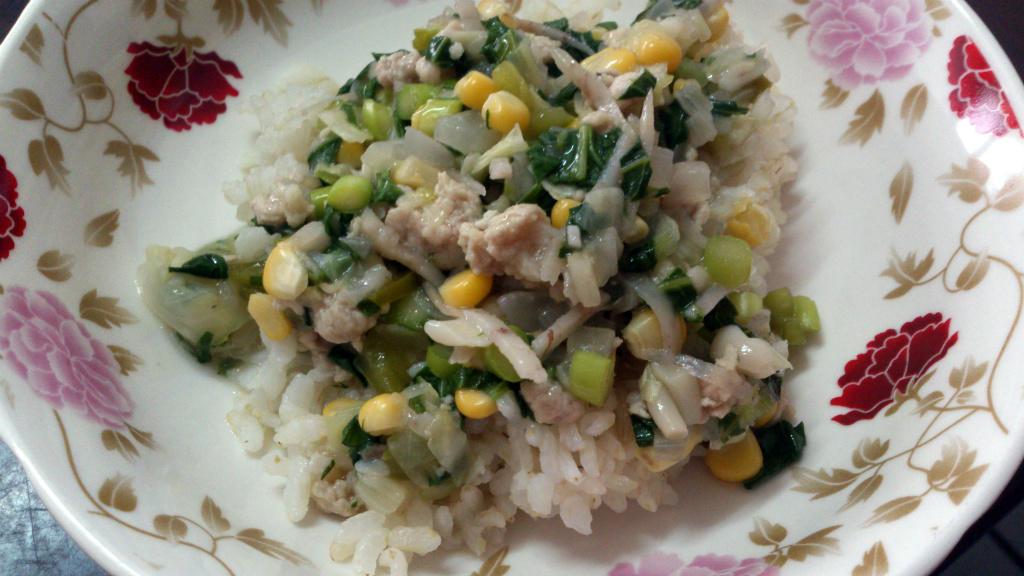 [小寶的飯飯]芋絲豬肉燴飯