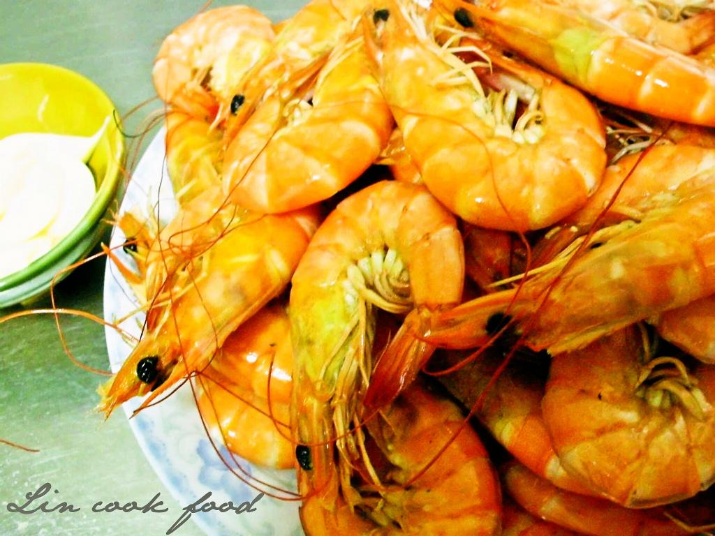【桂冠夏至涼拌】海口人之煮白蝦