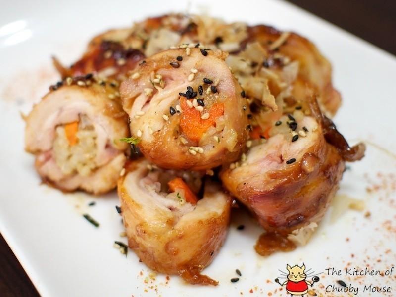 照燒雞肉飯卷