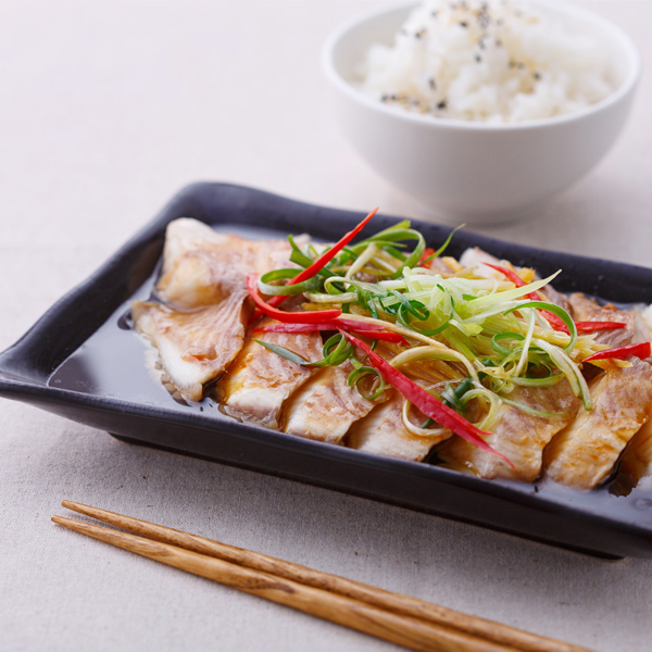 低熱量輕食》蒸鯛魚片