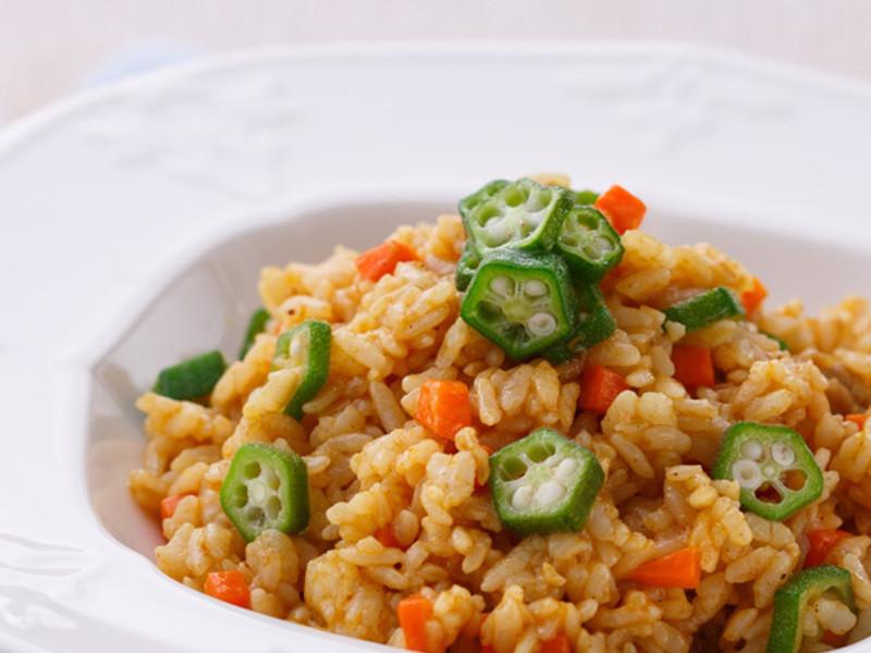 反浪費料理》吃不完咖哩醬星星炒飯