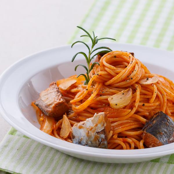 反浪費料理》茄汁鯖魚汁義大利麵