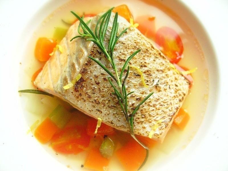芬芳香料鮭魚