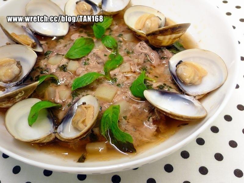 ^Q^ 塔香蛤蜊蒸肉餅  <<蒸肉餅5>>