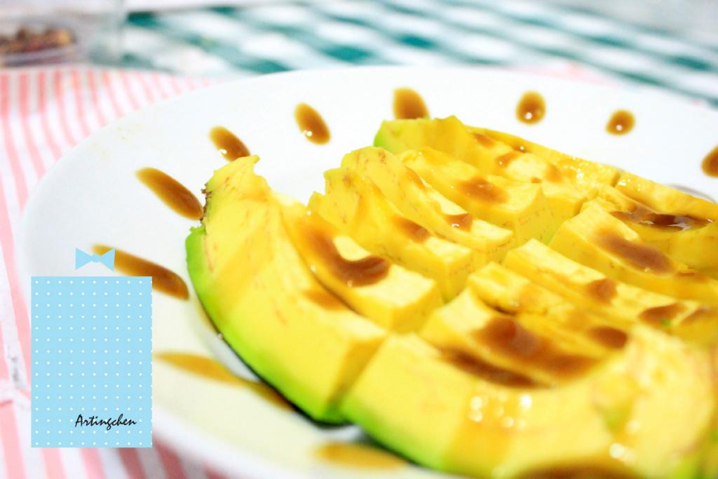 酪梨哇沙米 [窮人生魚片][素食生魚片]最營養的水果