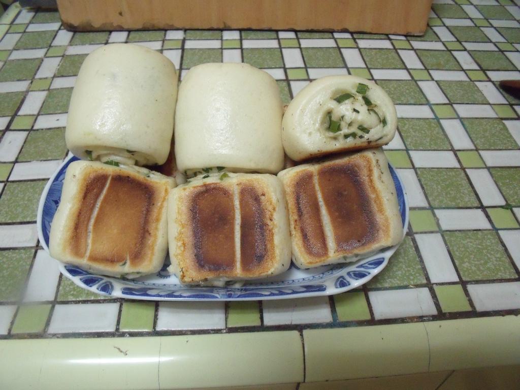 香蔥饅頭鍋貼