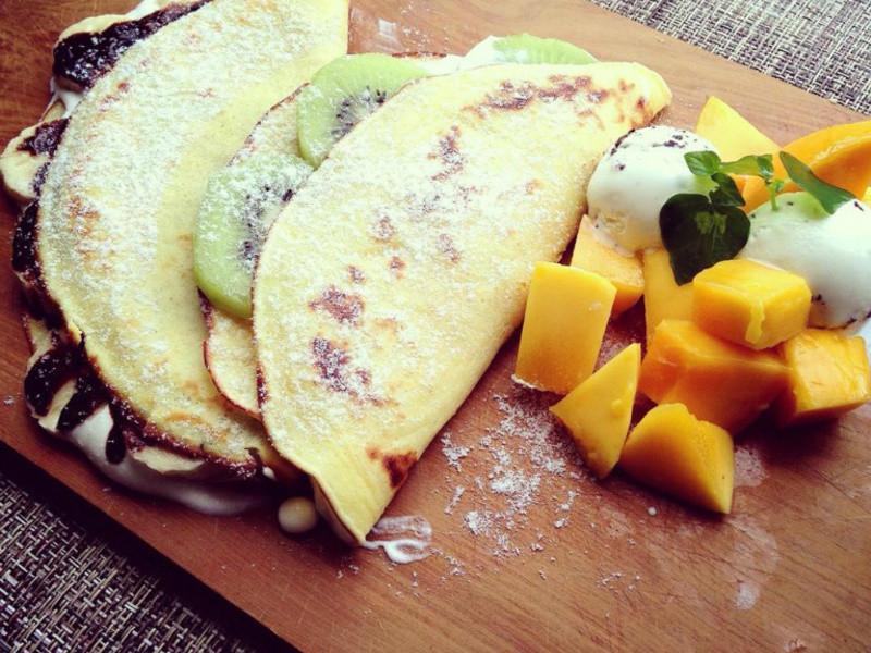 法式水果薄餅 crepes