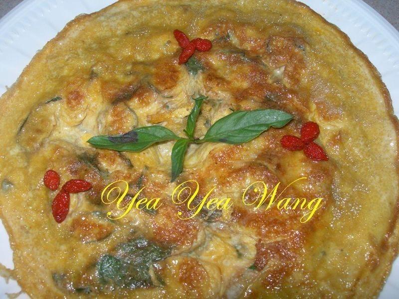 (古早味)塔香煎蛋