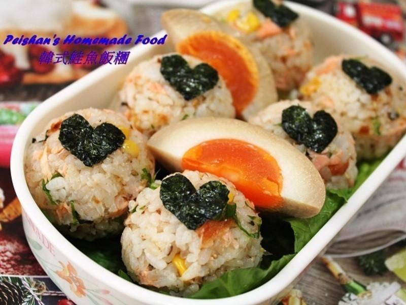 韓式鮭魚飯糰