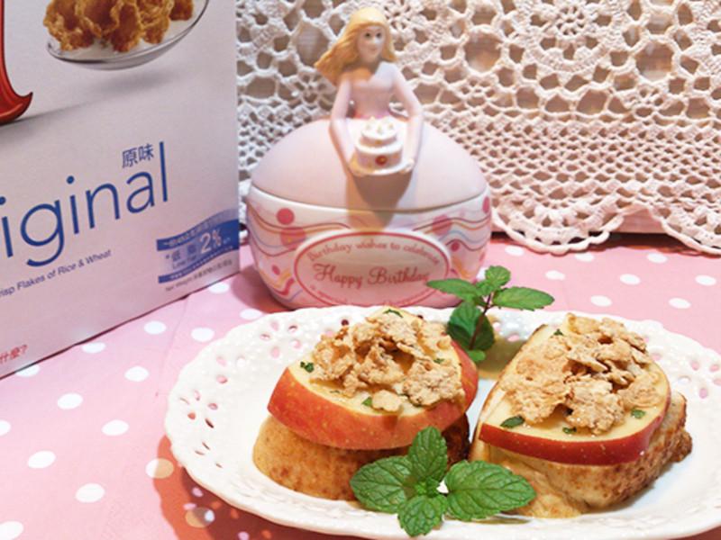 家樂氏Special K 薄荷蜂蜜蘋果麵包片『超快速懶人窈窕輕食』~莎媽五心級料理