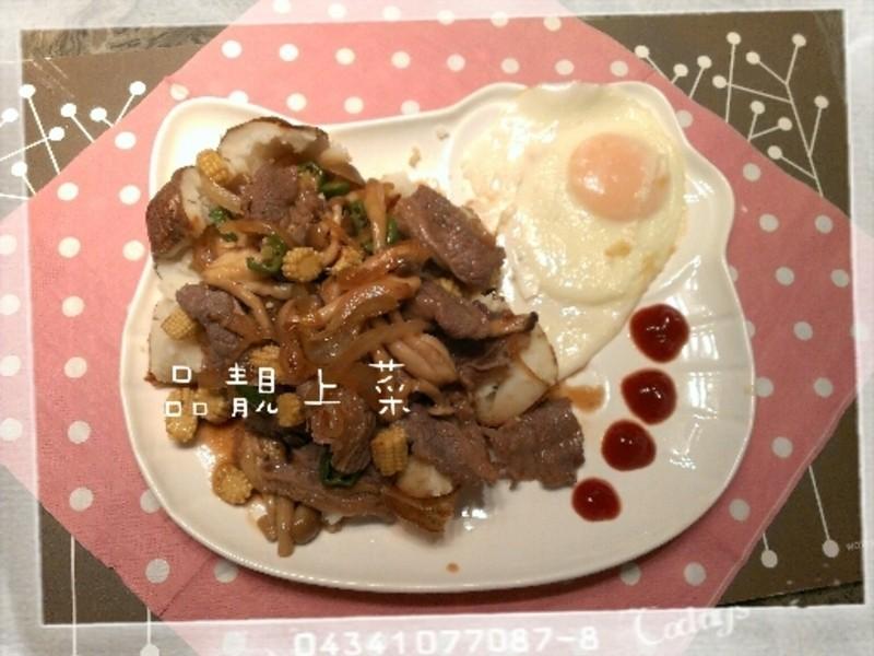 品靚上菜-菇菇馬鈴薯牛肉壽喜燒