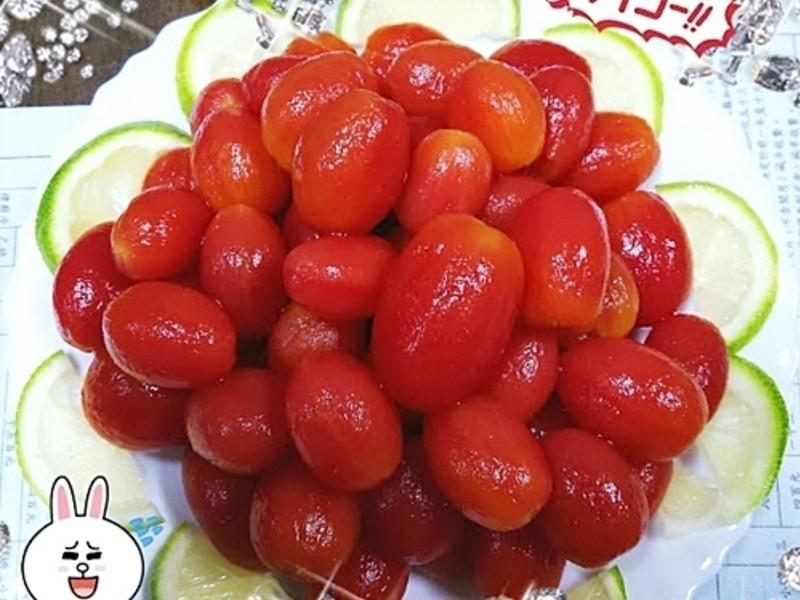 冰梅釀番茄