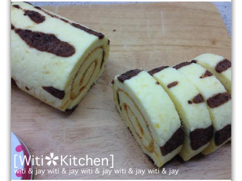 [Witi✿Kitchen]虎紋蛋糕捲-百香果口味