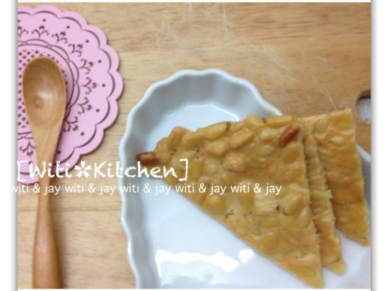 [Witi✿Kitchen]松子三角脆餅