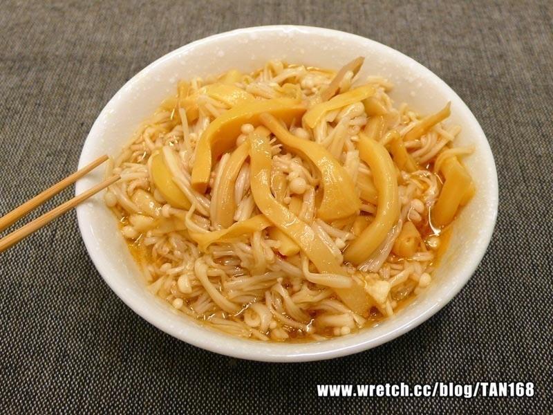 【熟菜改造12】玉筍金針菇