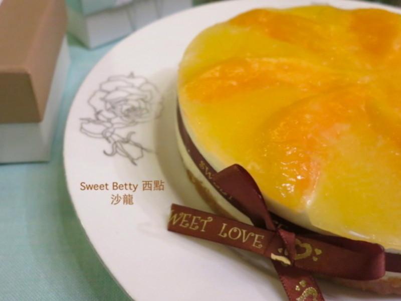 爸爸節~芒果凍起士蛋糕(免烤箱)
