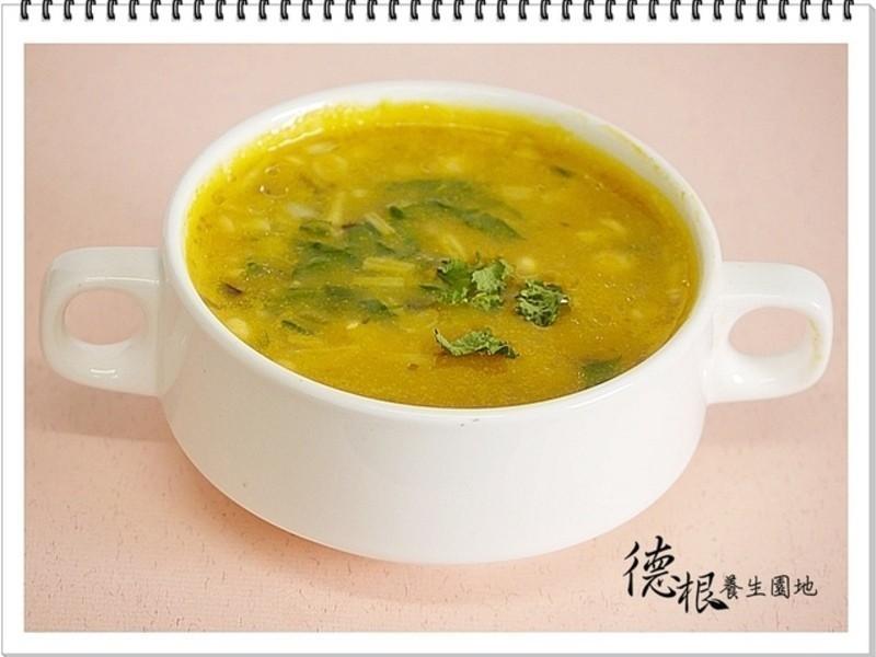 南瓜雞豆蔬菜濃湯