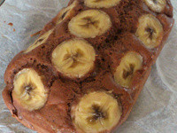 香蕉巧克力蛋糕(鬆餅粉)