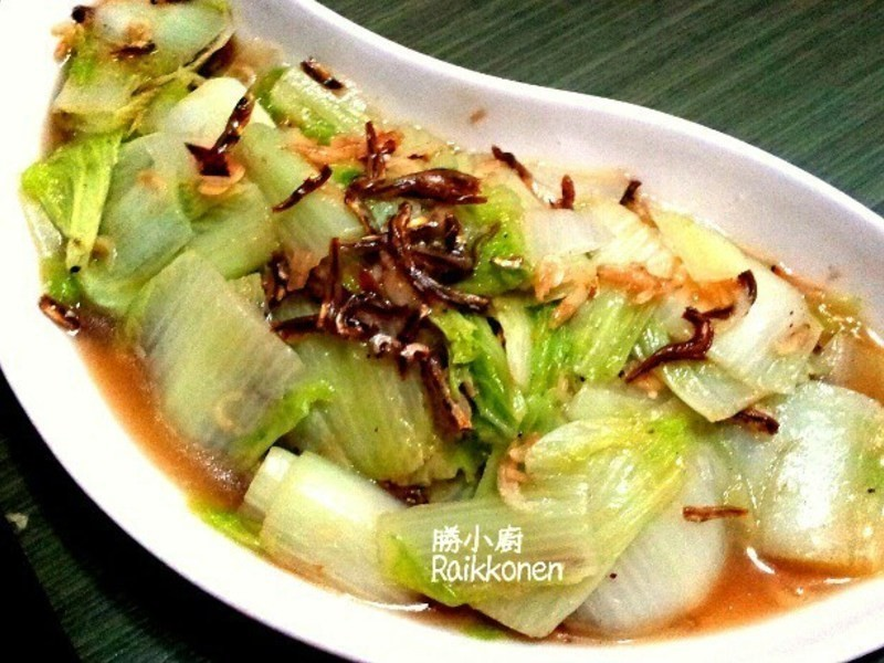 小魚干炒白菜