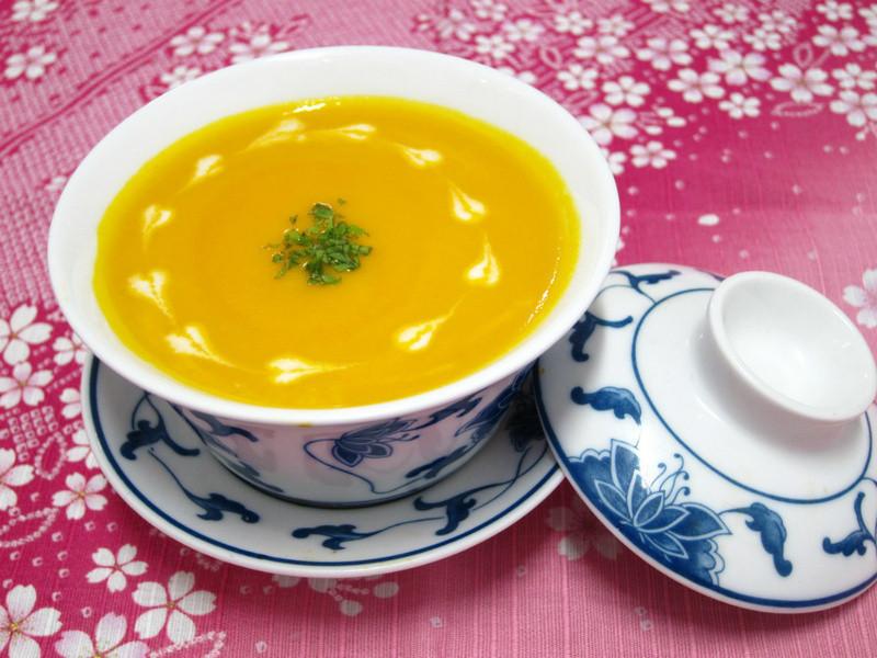 南瓜菇菇濃湯【口福食譜】