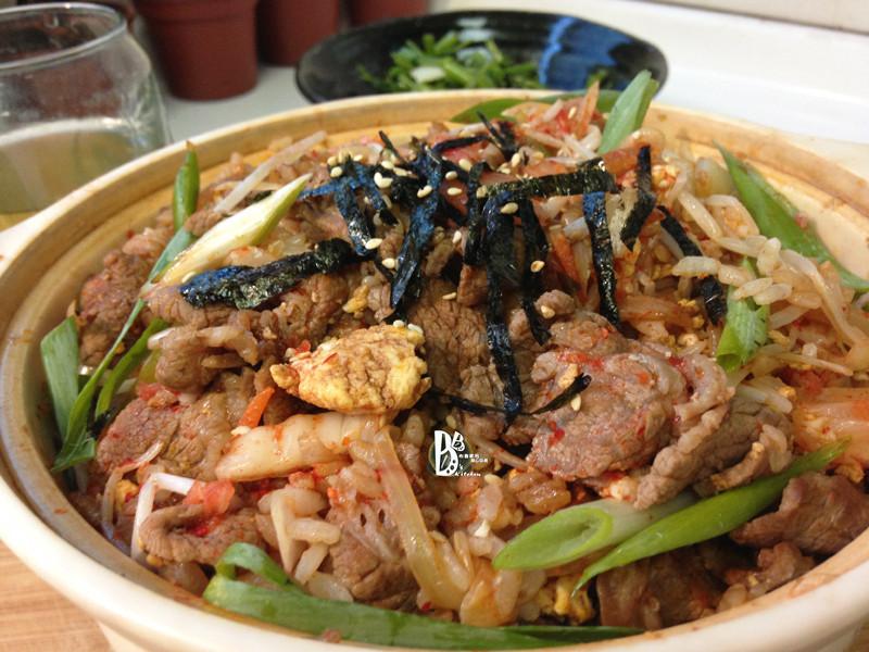 [一鍋隨意煮]-泡菜牛肉拌飯