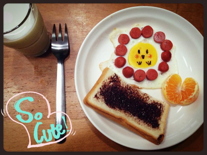 「RiTa小食堂」小花雞說早安