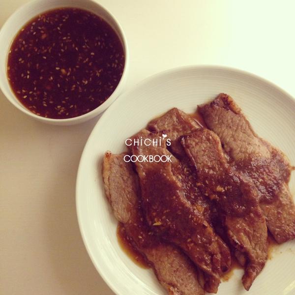 韓式烤肉醬牛小排