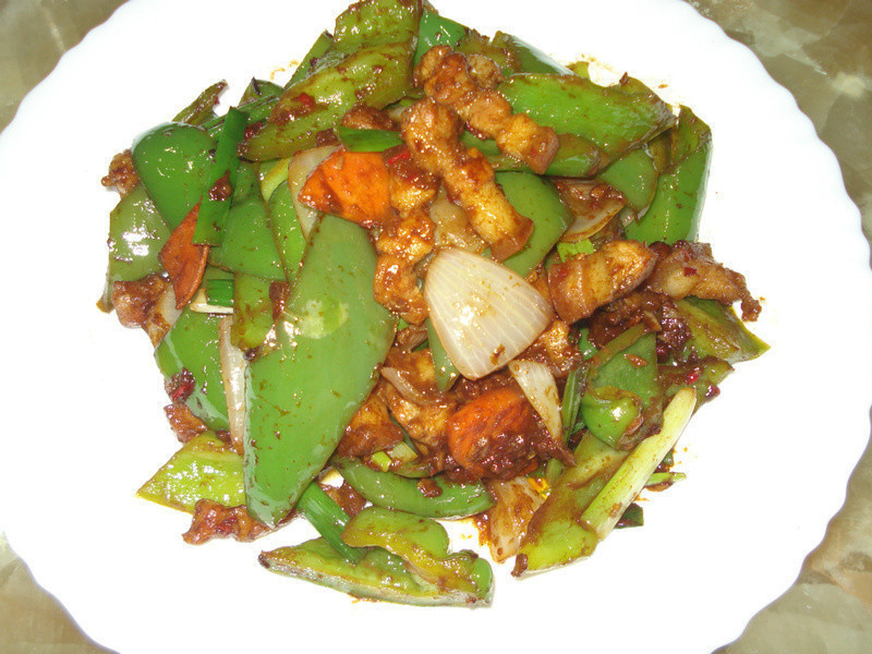 醬爆青椒五花肉