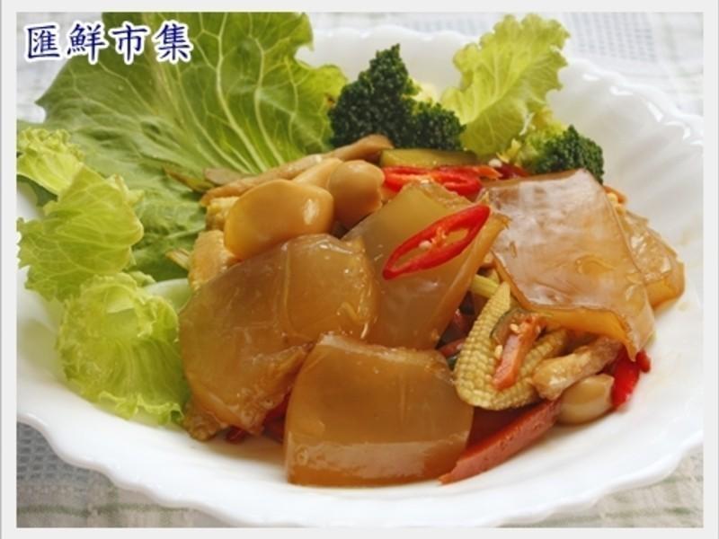 【膠原蛋白美顏料理】炒曼波魚皮