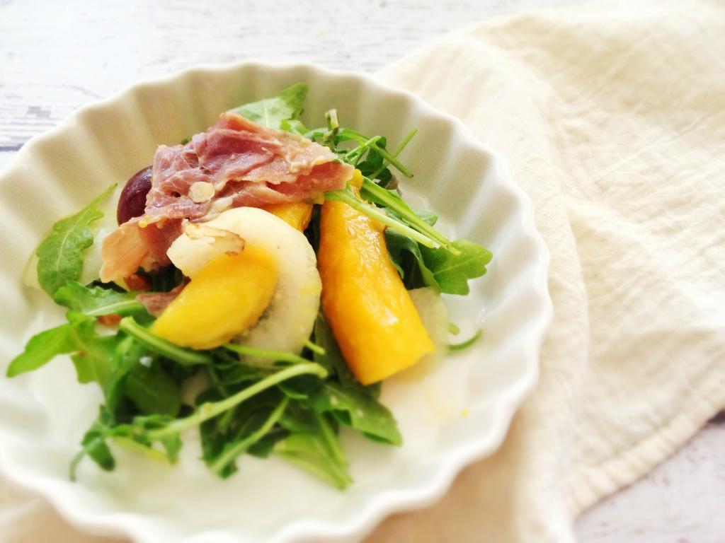 芒果芝麻菜沙拉 Mango Arugula Salad
