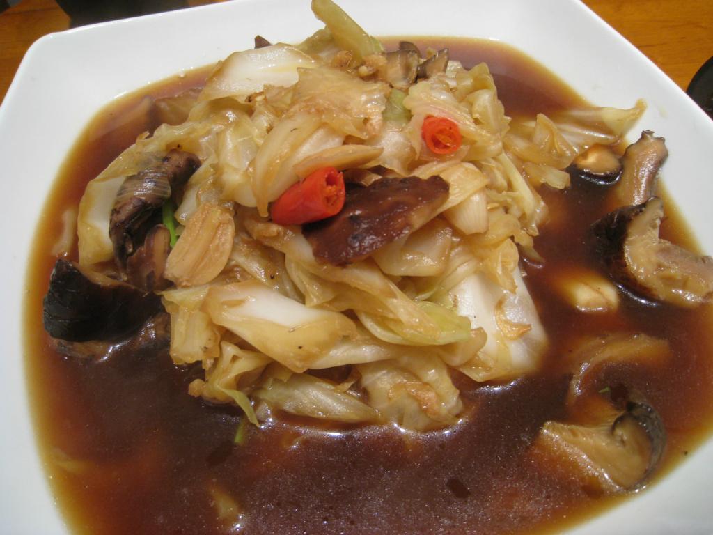 【粉豬兒】滷蝦米高麗菜