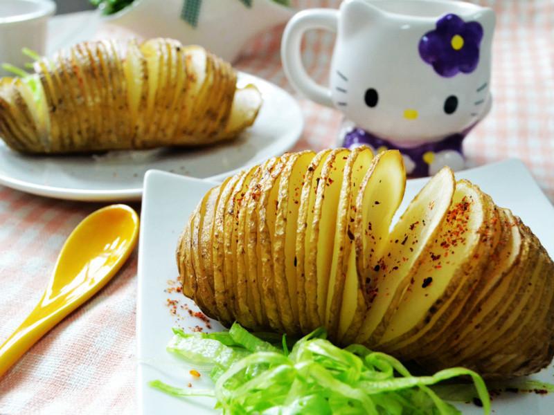 薄切手風琴馬鈴薯