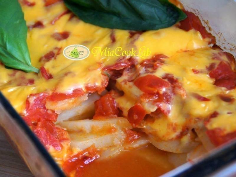 焗烤茄汁馬鈴薯