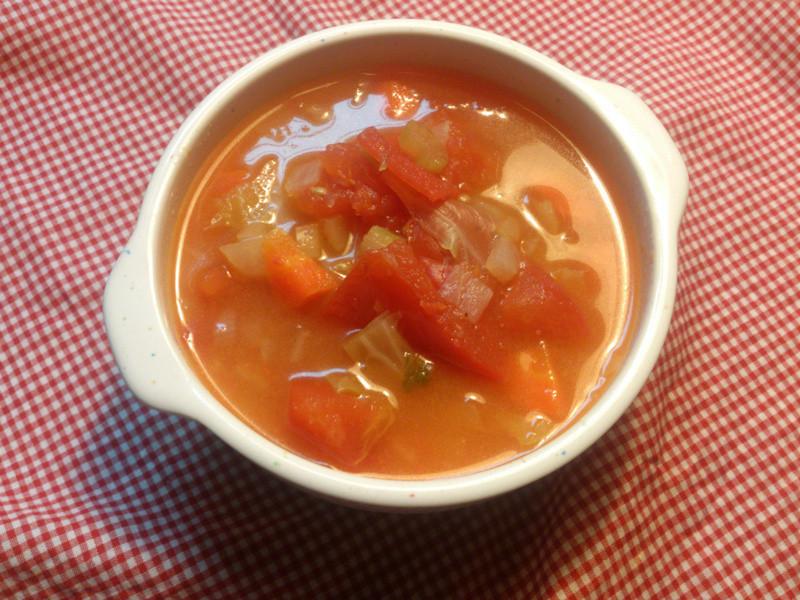 【簡單作】義式田園蔬菜湯
