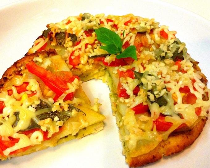 簡易青醬洋芋Pizza