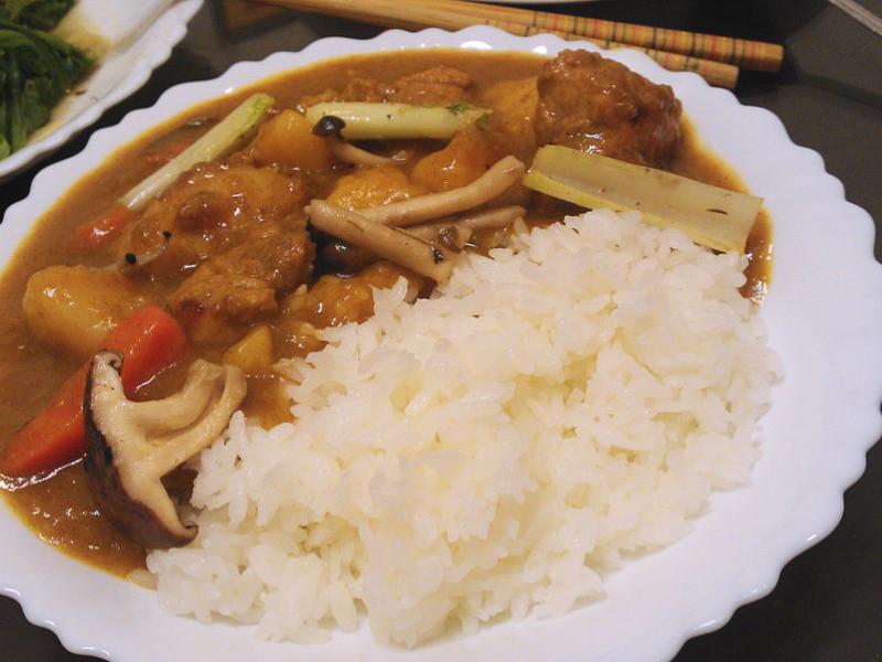 家常咖哩豬飯