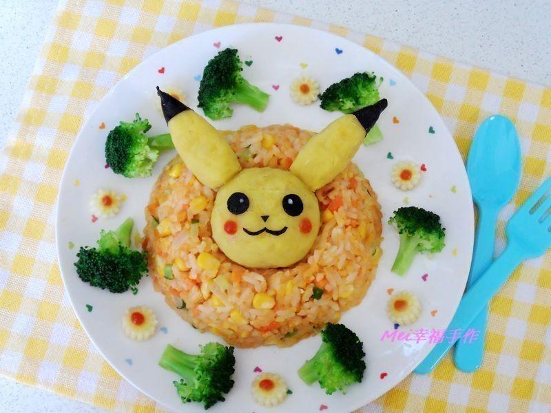 【親子食堂】皮卡丘炒飯
