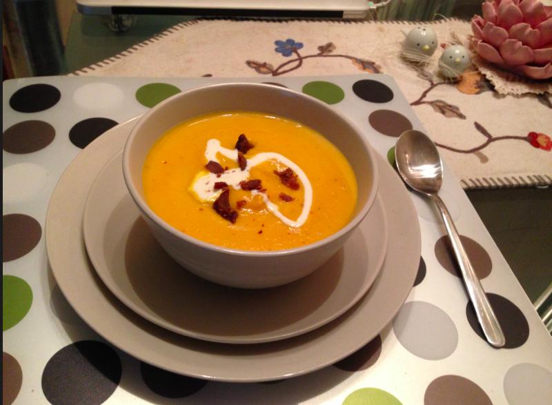 奶油紅蘿蔔濃湯【小確幸Angel⭐廚房】