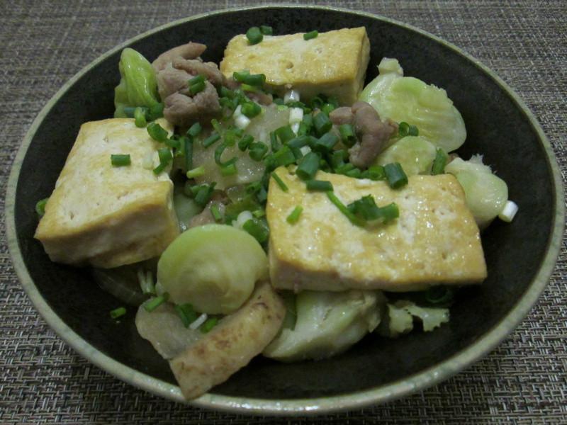 味噌燒肉豆腐丼