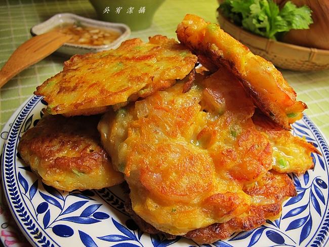 南瓜海鮮煎餅